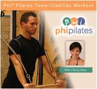 PHI Pilates Tower/Cadillac Workout DVD