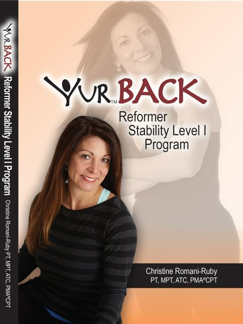 YUR Back Reformer Stability Level I Program DVD