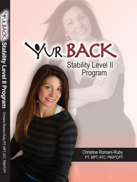 YUR Back Stability Level II Program DVD