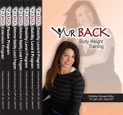 YUR BACK DVD Complete Set