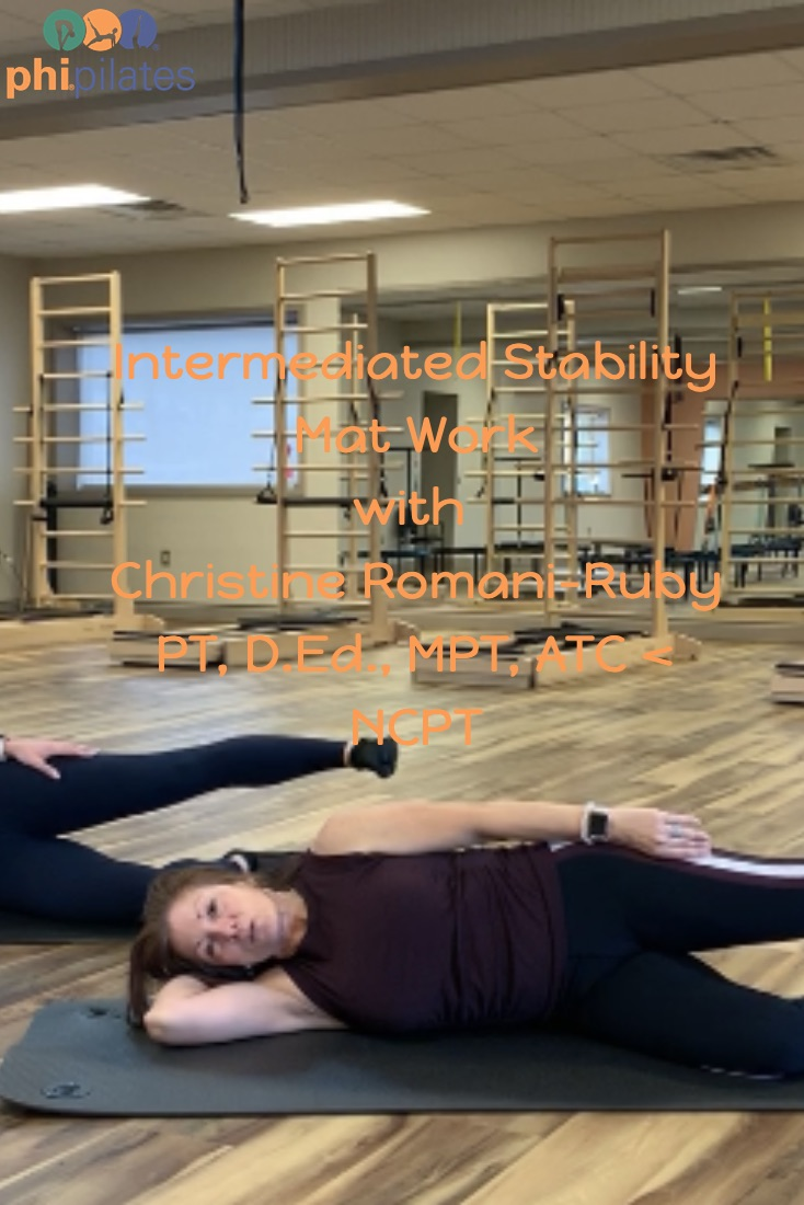 YUR BACK Stability Intermediate Mat with Christine Romani-Ruby PT