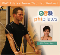 PHI Pilates Tower/Cadillac Workout DVD