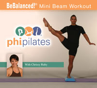 BeBalanced Mini Beam Workout DVD