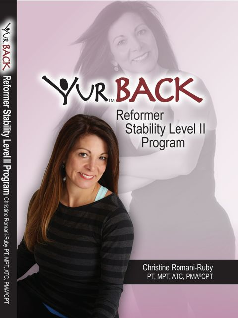 YUR Back Reformer Stability Level II Program DVD