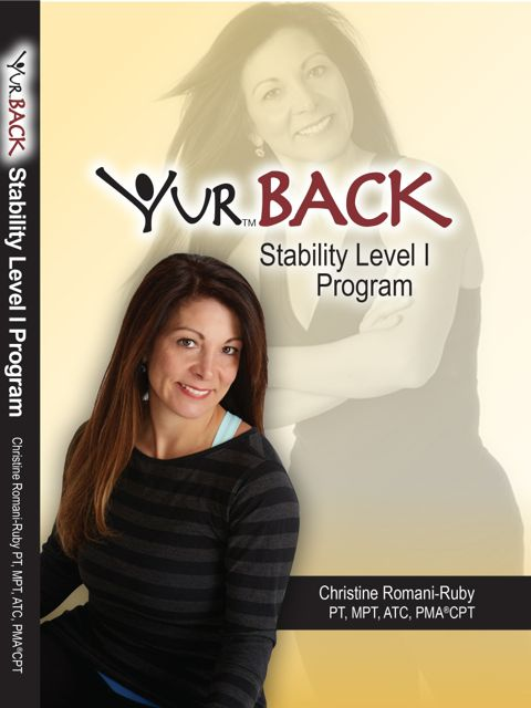 YUR Back Stability Level I Program DVD